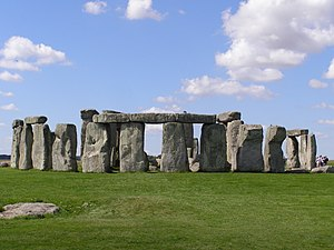 The Pandorica Opens - Some scenes were filmed at the real Stonehenge in Wiltshire, while others were filmed using a replica.