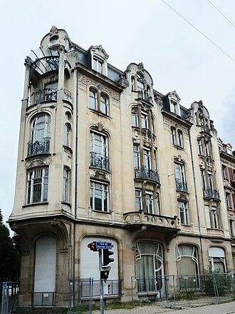 22, Rue du Général de Castelnau - Image: Strasbourg Rue du Général de Castelnau 22