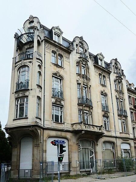 Fichier strasbourg rue du g n ral de castelnau for Rue du miroir strasbourg