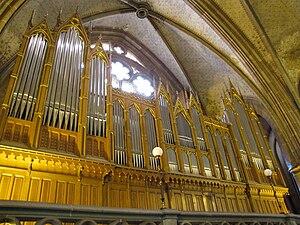 Walcker Orgelbau - Walcker organ in St. Paul, Strasbourg, France