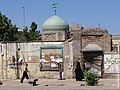 Street Scene with Mosque and Passersby - Qazvin - Northwestern Iran (7418093358).jpg