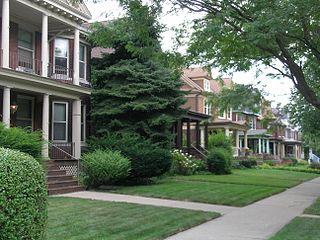 historic district in Detroit, Michigan