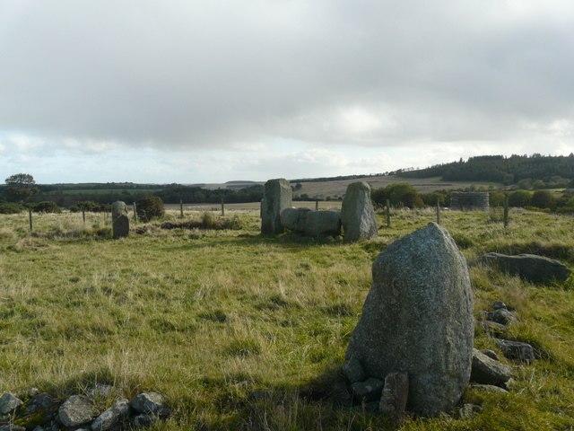Strichen stone circle. - geograph.org.uk - 1527074