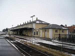 Struer station - Struer station in 2010