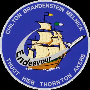 Pierre J. Thuot - Image: Sts 49 patch