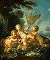 Studio of François Boucher - Putti as Fisherman - 58.15 - Museum of Fine Arts.jpg
