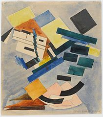 Study for a Suprematist Composition