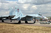Su-27SM3 at the Celebration of the 100th anniversary of Russian AF (2).jpg
