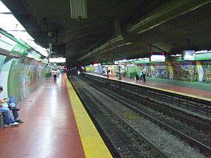 Scalabrini Ortiz (Buenos Aires Underground) - Image: Subte Scalabrini Ortiz