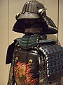 Suit of armor Edo period (1615-1868) Japan lacquered iron plates leather textile and silk cord 3 (364562218).jpg