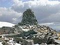 Summit cairn of A' Chralaig - geograph.org.uk - 1031646.jpg