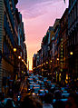 Sunset on the Streets of Rome (7578966218).jpg