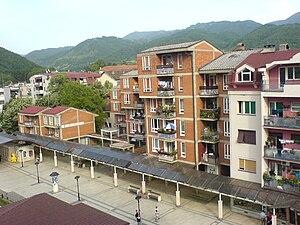 Surdulica - Residential area in Surdulica