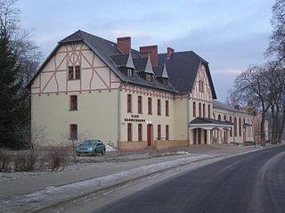 Świętoszów Village in Lower Silesian Voivodeship, Poland