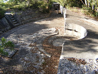 Lower Georges Heights Commanding Position - Image: Syd Harbourdefence 0008