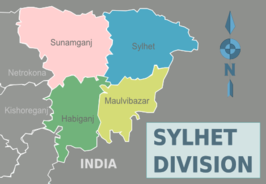 Districten in Sylhet