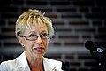 Syliva Bretschneider president i Mecklenburg-Vorpommerns parlament talar vid BSPC 18 i Nyborg Danmark 2009-08-31.jpg