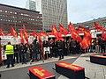 Syriac-Aramean genocide (Sayfo) commemoration in Stockholm, Sweden.jpg