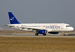 Airbus A320-200 der Syrian Arab Airlines