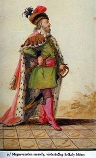 Moses Székely Prince of Transylvania and Hungarian noble