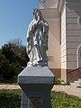Szűz Mária-szobor, római katolikus templom, 2017 Hajdúnánás.jpg