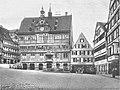 Tübinger Marktplatz mit dem Rathaus ca.1920 (TGV011).jpg