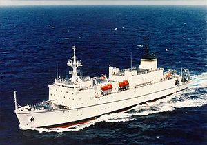 USNS Waters (T-AGS-45) - Image: T AGS 45 Waters