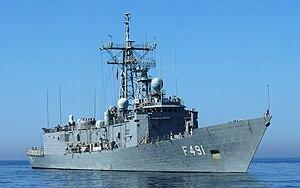 USS Antrim (FFG-20) - TCG Giresun (F-491)