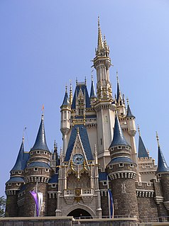 Tokyo Disneyland theme park in Japan, owned by The Oriental Land Company
