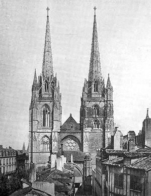 THE CATHEDRAL, BAYONNE - A book of the Pyrenees.jpg