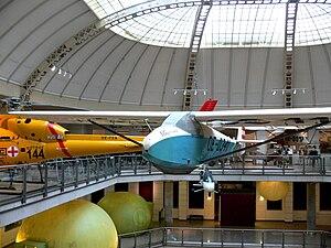 Hütter Hü 17 - Hü 17B in the Technisches Museum Wien