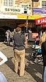 TV cameraman, The Pleasance - geograph.org.uk - 929332.jpg