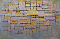 Tableau no 2 Composition no V, by Piet Mondriaan.jpg
