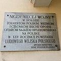Tablica pamiątkowa na ścianie ratusza w Pogorzeli.jpg
