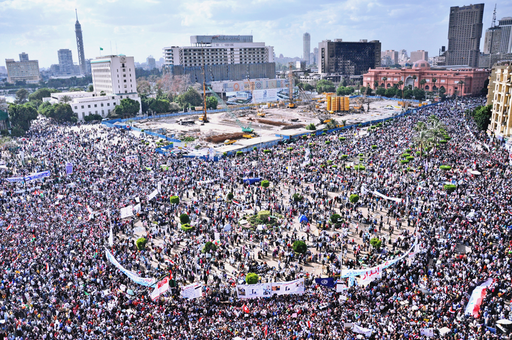 Tahrir Square April 8 2011
