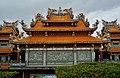 Taipeh Guandu Temple Haupthalle Rückseite 4.jpg