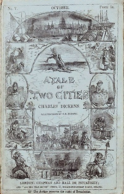 Picture of a book: A Tale Of Two Cities