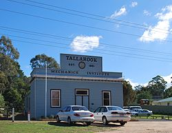 Tallarook mechanics institute 001