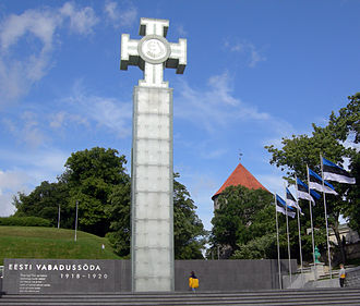 War of Independence Victory Column - Image: Tallinn War Memorial 2009