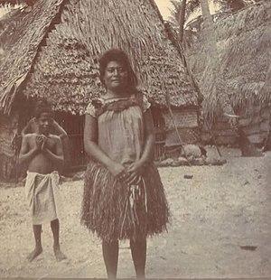 Nukufetau - Tamala of Nukufetau atoll, Ellice Islands (circa 1900-1910)