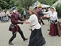 Tanzgruppe beim Mittelalter Fest in Waldprechtsweier Anno 2015 - panoramio.jpg