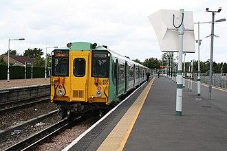 Tattenham Corner railway station - Image: Tattenham Corner station geograph.org.uk 477858