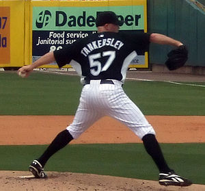 Taylor Tankersley - Tankersley with the Florida Marlins