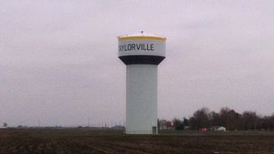 Taylorville, Illinois - Taylorville Water tower