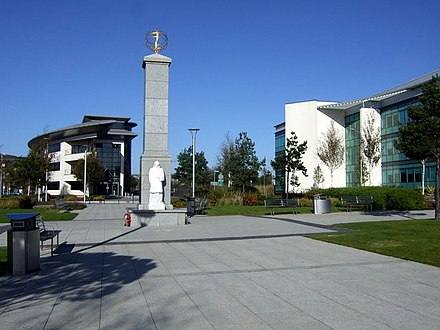 Part of the Swansea Waterfront developments. Technium Square Swansea - geograph.org.uk - 1605758.jpg
