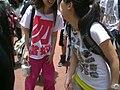 Tee Shirt Slogan Sir Donald Tsang @ Demon Protest July-01-2009.jpg