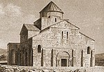 Tekor Basilica in an 1840s engraving.jpg