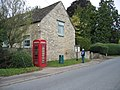Telephone Box and Village Noticeboard Somerford Keynes - geograph.org.uk - 574105.jpg
