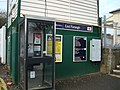 Telephone box at East Farleigh Railway Station - geograph.org.uk - 1753226.jpg