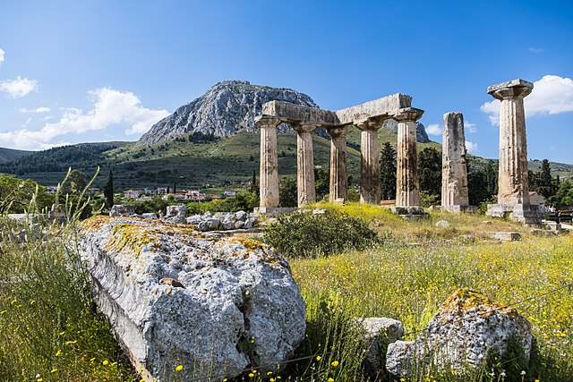 tempio di Apollo corinto